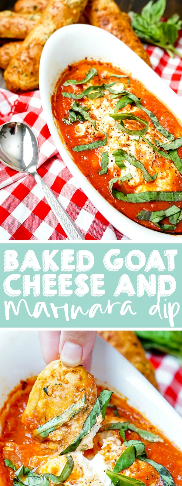 My favorite restaurant appetizer is easy to recreate at home with this copy cat recipe! It's warm, flavorful, cheesy and downright addicting! Serve this warm dip alongside crostini, fresh bread, crackers or, my personal favorite, warm bread sticks!  | THE LOVE NERDS #warmdiprecipe #marinaradip #goatcheeseappetizer #christmasappetizer #newyearsappetizer #thanksgivingappetizer
