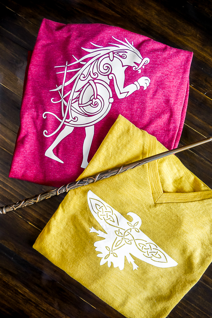 The World of Harry Potter comes to America with Fantastic Beasts and Where to Find Them so it's time to represent the new school with Ilvermorny House Shirts! | The Love Nerds