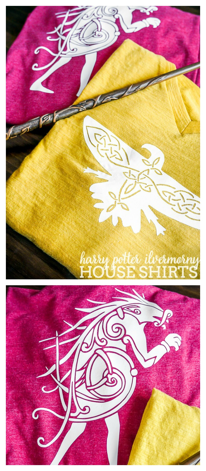The World of Harry Potter comes to America with Fantastic Beasts and Where to Find Them so it's time to represent the new school with Ilvermorny House Shirts!   The Love Nerds