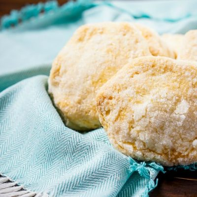 Easiest Shortcake Biscuits