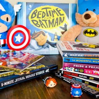 The Ultimate List of Nerdy Baby Books - From Star Wars and Superheroes to Code Monkeys and Classic Book Lovers, there is something for every nerd! | The Love Nerds