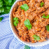 4 Ingredient Slow Cooker BBQ Pulled Pork
