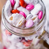 Chocolate Covered Strawberry Puppy Chow