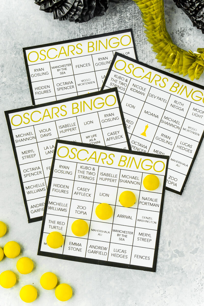 Oscar Night Inspiration!