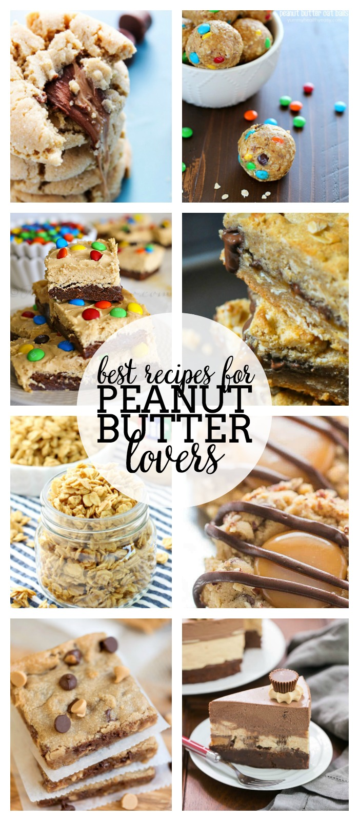 The Best Recipes for Peanut Butter Lovers - If you or your family love peanut butter, you don't want to miss this recipe collection! We are sharing peanut butter recipes for breakfast, dinner, and dessert!! | The Love Nerds