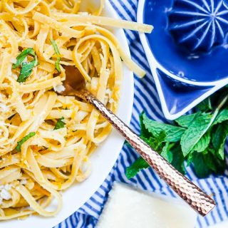 Orange Mint Pasta – A Light and Fresh Citrus Mint Pairing!