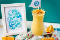 """Consider the Coconuts"" Orange Pineapple Coconut Smoothie"