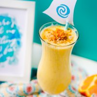 Orange Pineapple Coconut Smoothie