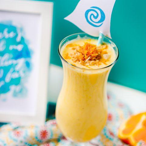 Orange Pineapple Coconut Smoothie