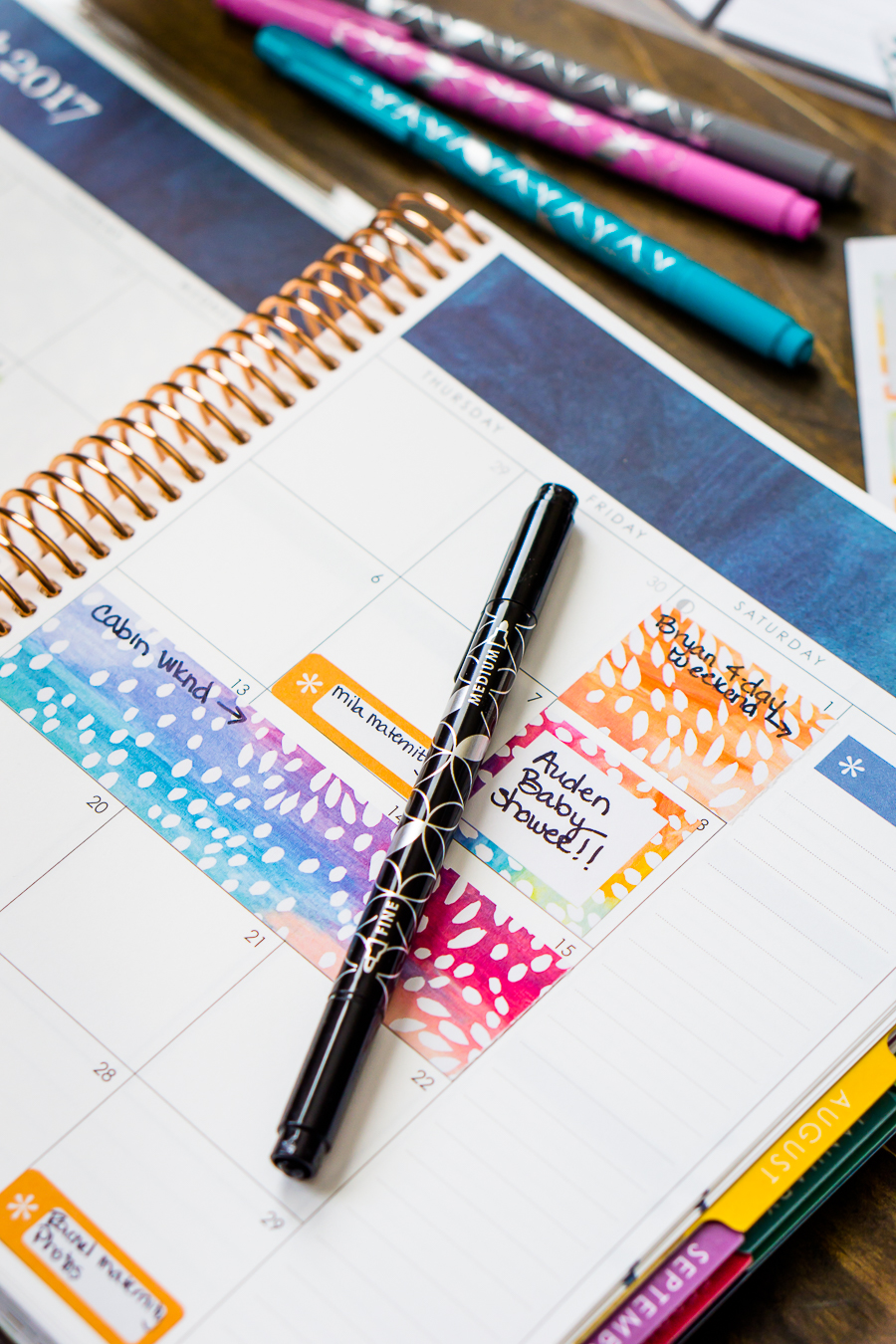 How I Use My Erin Condren Life Planner Now - It's been 3 years since I first shared a close inside look of my planner organization, so I thought it was time for an update!   The Love Nerds #sponsored