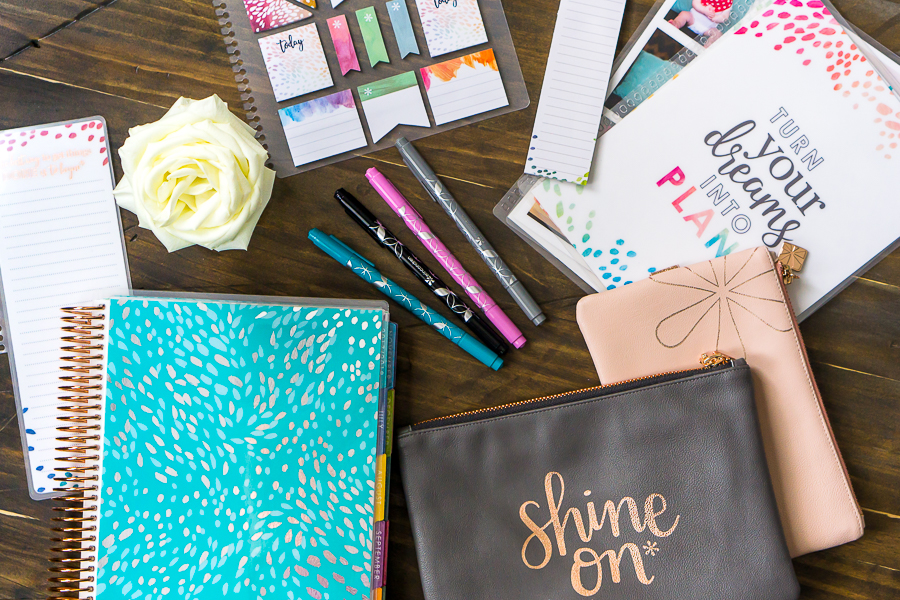 How I Use My Erin Condren Life Planner Now - It's been 3 years since I first shared a close inside look of my planner organization, so I thought it was time for an update! | The Love Nerds #sponsored
