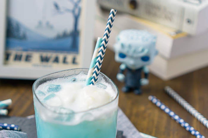 Game of Thrones Ice Dragon Cocktail