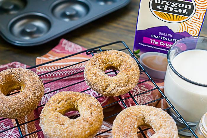 Oregan Chai Baking Recipe for chai donuts