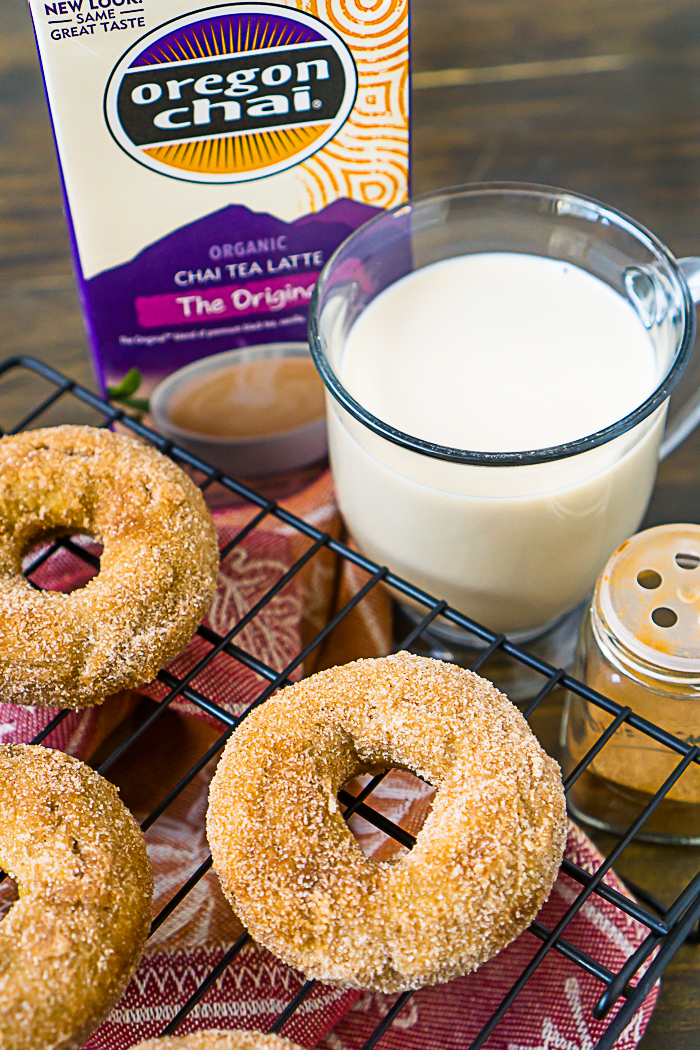 Easy Baked Donut Recipe for chai donuts