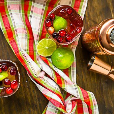Fiesta Date Night with Cranberry Margaritas