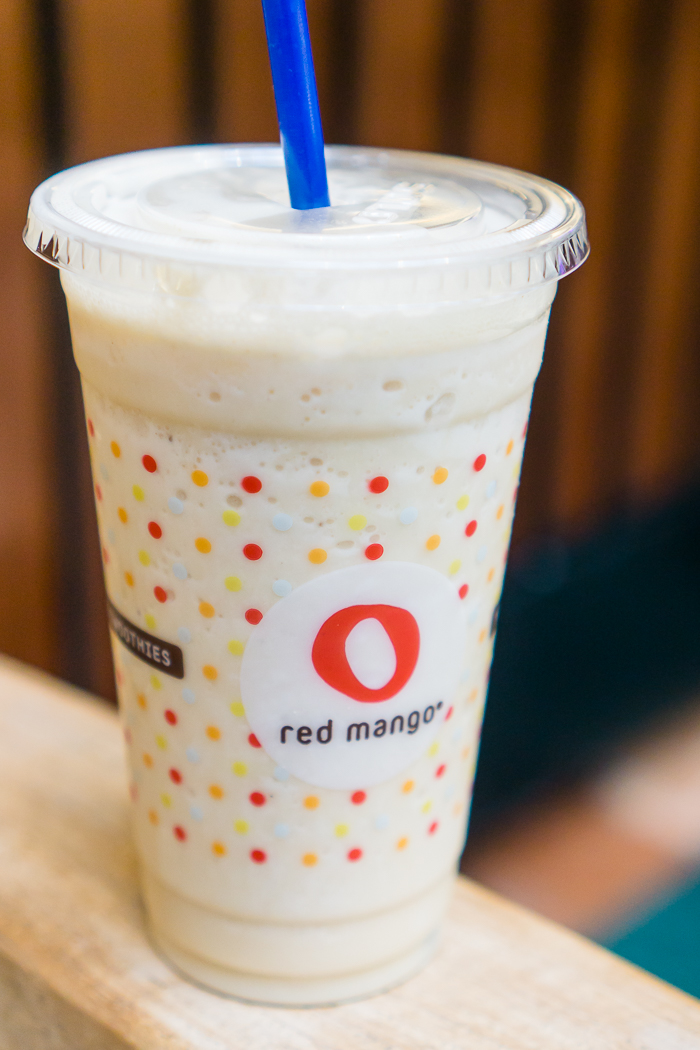 Red Mango Fall Smoothies