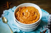 Cinnamon Brown Sugar Mashed Sweet Potatoes