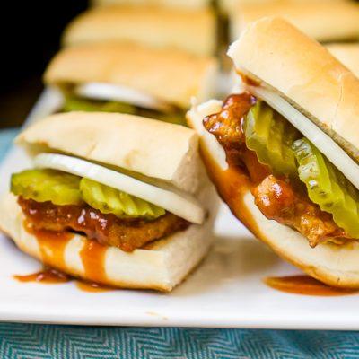 Copycat McRib Sandwich