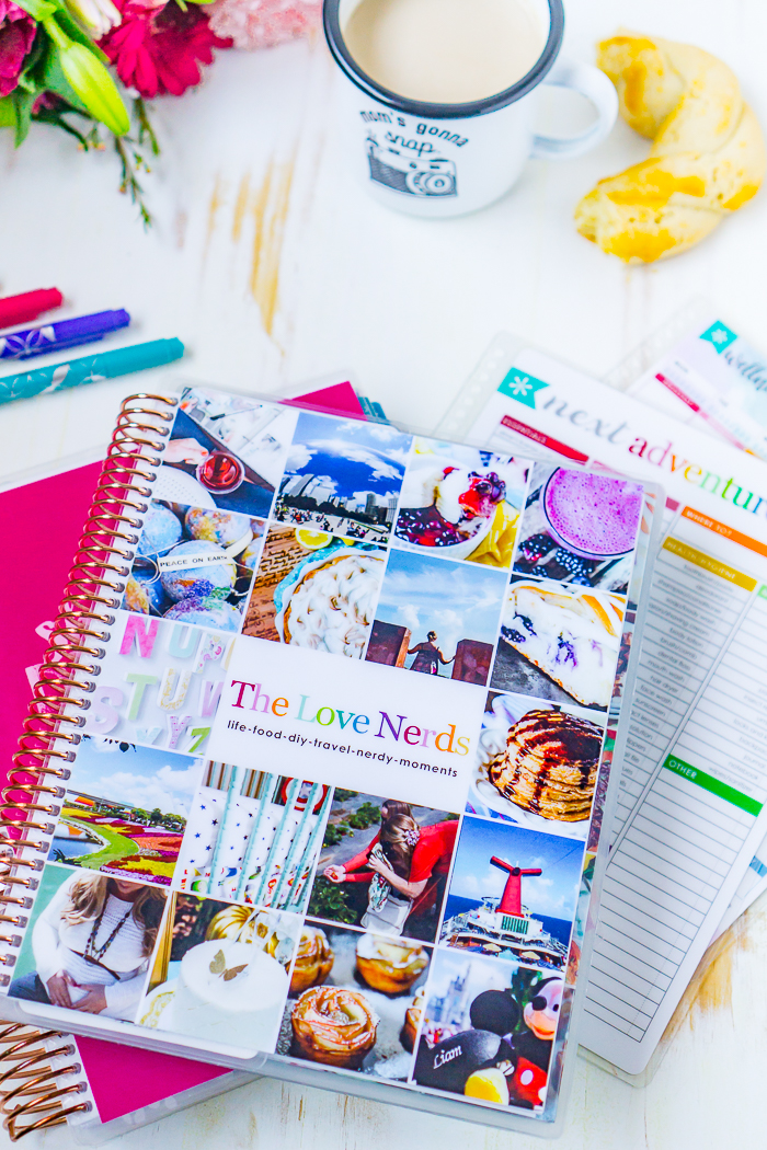 Tips for setting up your Erin Condren Life Planner organization including how I use the monthly calendars, monthly note pages, weekly calendars, goal setting pages, and notes pages.