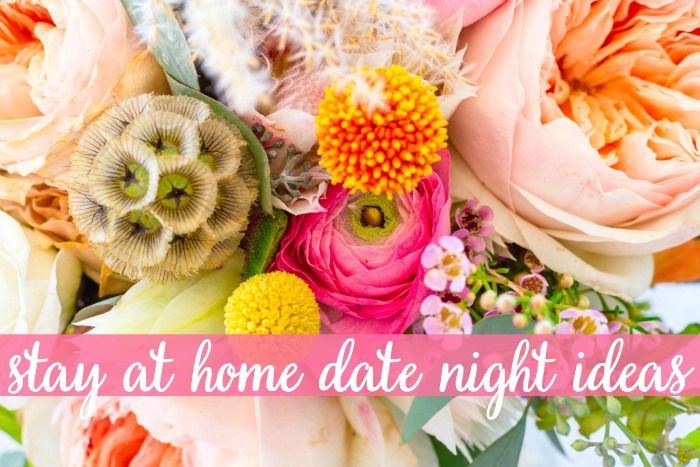 One of our top marriage goals is spending quality time together on date nights, but we don't have the budget or babysitters to go out. At Home Date Nights are a reality for us which doesn't sound exciting, but they are consistently some of our favorite nights together!!