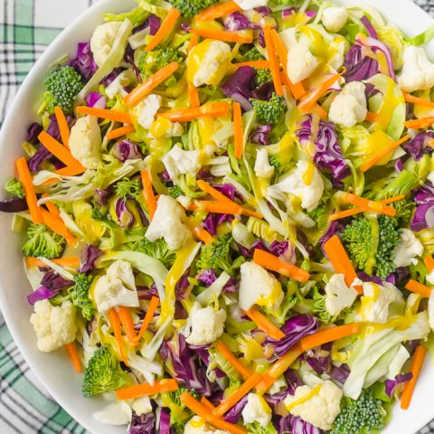 Cabbage and Brussels Sprouts Salad