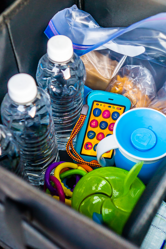 I wanted to hop on here and share with you all the list of what to keep in our car this summer!