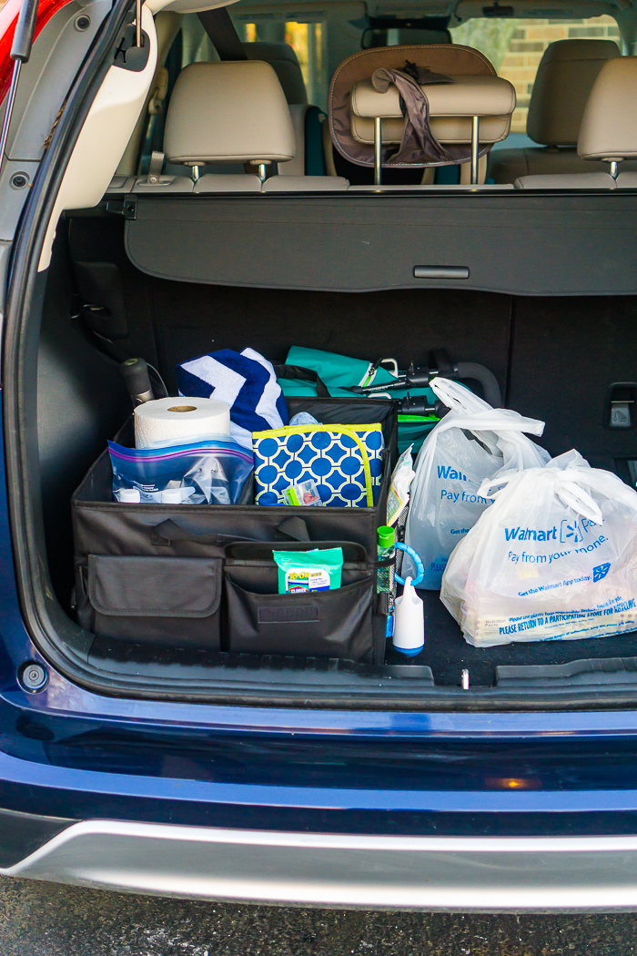 Make your parent life or on the go life easier by being prepared and keeping certain things in your car this summer!