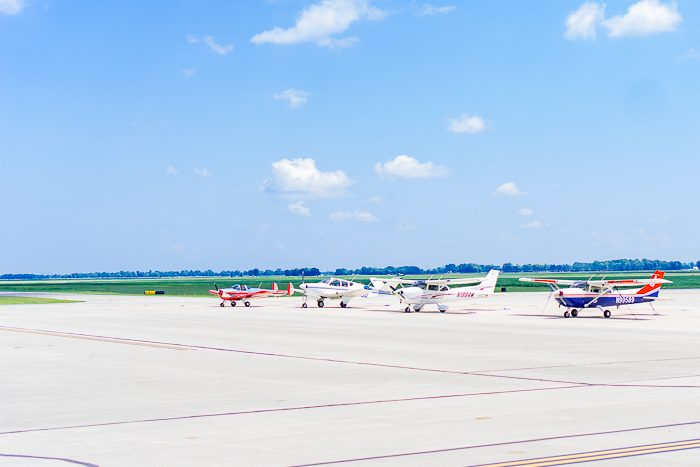 HANGAR 5 RESTAURANT AT COLUMBUS AIRPORT | Columbus, Indiana