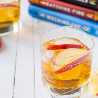 The Girl on Fireball Cocktail