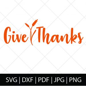 FALL SVG BUNDLE - GIVE THANKS