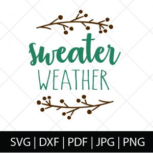 FALL SVG BUNDLE - SWEATER WEATHER