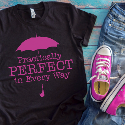 Practically Perfect Mary Poppins SVG Files