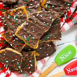 Saltine Toffee – A Sweet and Salty Christmas Candy!