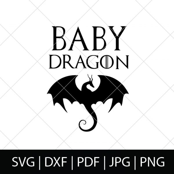 Mother of Dragons, Dragon and Baby Dragon Family Shirt Collection! - Game of Thrones SVG Cut Files - Celebrate your favorite book series and television show with your own DIY GOT shirt, mug or more! These designs make a great diy baby shower gift!