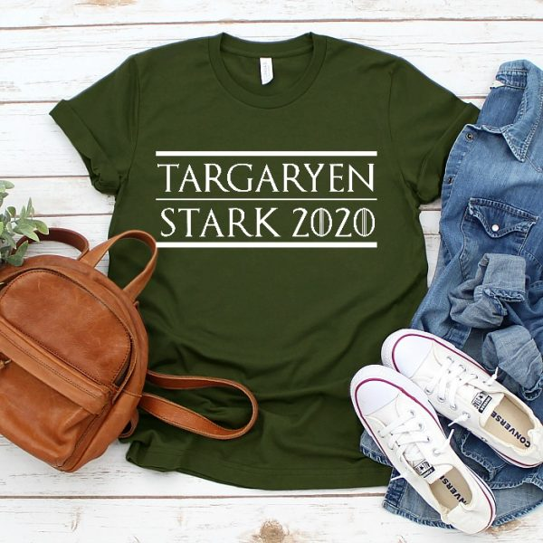 Vote Targaryen and Stark! I know I am! - Game of Thrones SVG Cut File - Celebrate your favorite book series and television show with your own DIY GOT shirt, mug or more!