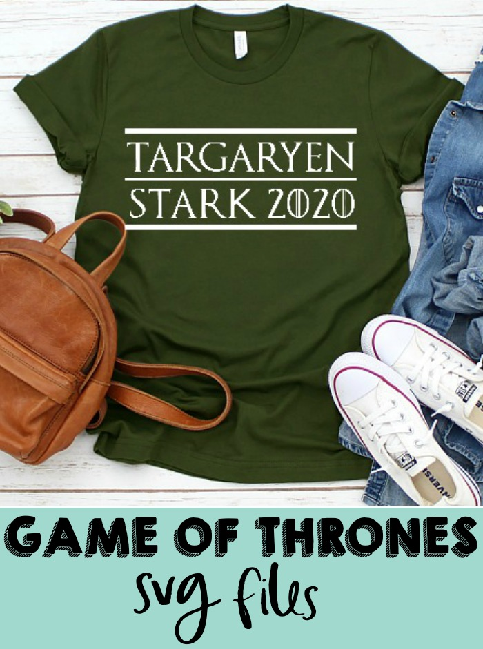 Who is team Targaryen and Stark? I know I am! - Game of Thrones SVG Cut File - Celebrate your favorite book series and television show with your own DIY GOT shirt, mug or more! | THE LOVE NERDS