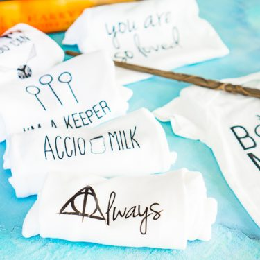 My love for Harry Potter and the Wizarding World never waivers, which means I am always up for fun Harry Potter crafts! I have made more than a few DIY Harry Potter shirts as birthday gifts, baby shower gifts and more! I'm sharing two new Harry Potter SVG bundles for you all so you can make your own Wizarding World crafts like diy shirts, mugs, glassware and more! | THE LOVE NERDS
