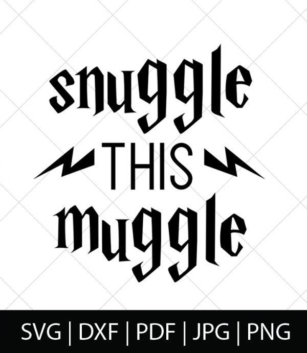 Snuggle this Muggle - Harry Potter SVG Bundle 1 - Celebrate your love of Harry Potter, Hogwarts, and the entire wizarding world with these Harry Potter SVG Cut Files! Perfect for making DIY Harry Potter Shirts, Mugs, and more!