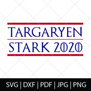 Who is team Targaryen and Stark? I know I am! - Game of Thrones SVG Cut File - Celebrate your favorite book series and television show with your own DIY GOT shirt, mug or more!