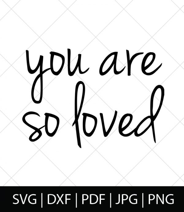 You are so loved! - Harry Potter SVG Bundle 1 - Celebrate your love of Harry Potter, Hogwarts, and the entire wizarding world with these Harry Potter SVG Cut Files! Perfect for making DIY Harry Potter Shirts, Mugs, and more!