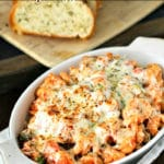 20 minute Cheesy Vegetable Pasta Bake