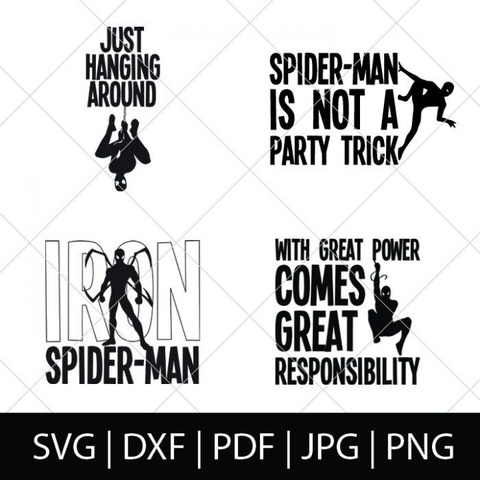 Spider Man Svg Bundle The Love Nerds