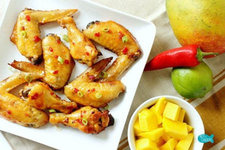 Chili Mango Chicken Wings