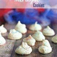 Firecracker Meringue Cookies