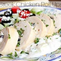 Greek Chicken Roll-ups