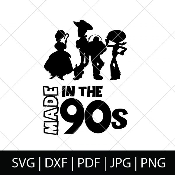Made in the 90s - Toy Story SVG Bundle