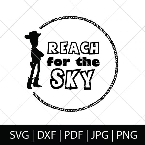 Reach for the Sky - Toy Story SVG Bundle