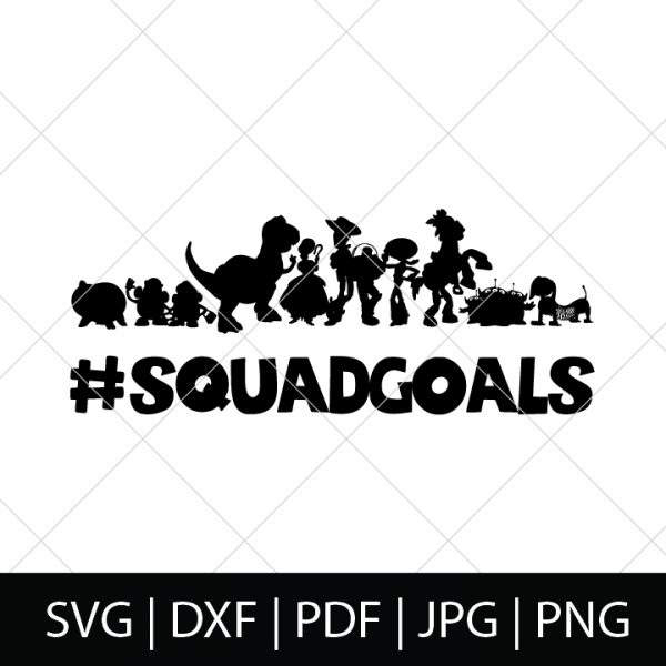 Squad Goals - - Toy Story SVG Bundle