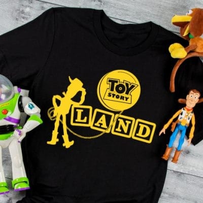 Toy Story SVG Bundle for DIY Disney Shirts and More!
