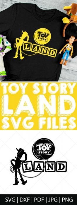 Toy Story Svg Bundle For Diy Disney Shirts And More The Love Nerds